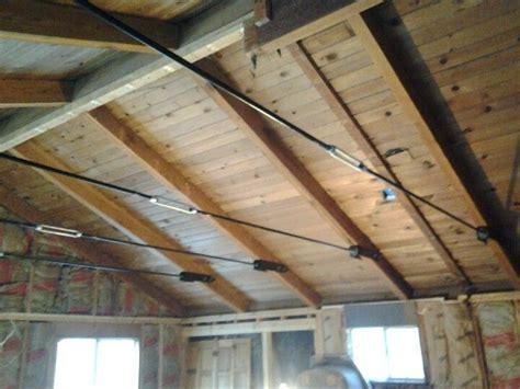 image result  exposed steel tension rod  ceiling