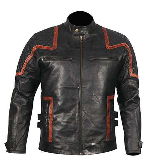 motor leather jacket 101 vintage distressed motor biker leather jacket