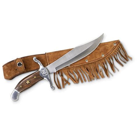 daniel boone bowie knife reproduction 118015 fixed