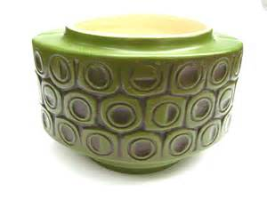 vintage 1970s mid century mod scandia mccoy pottery planter
