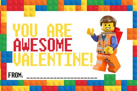free printable lego gift certificates lego valentine cards printable it is a keeper