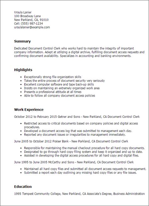 Document Imaging Specialist Cover Letter by Document Specialist Resume Exles 28 Images Document