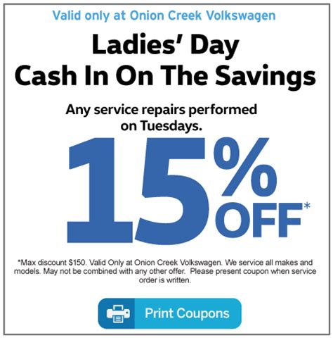 service coupons  onion creek volkswagen austin tx