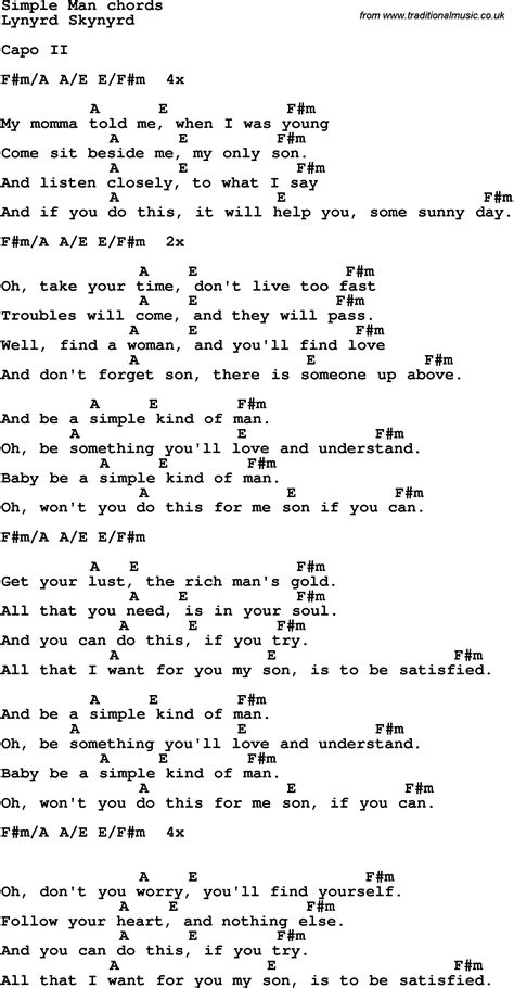 Piano man guitar chords easy chart
