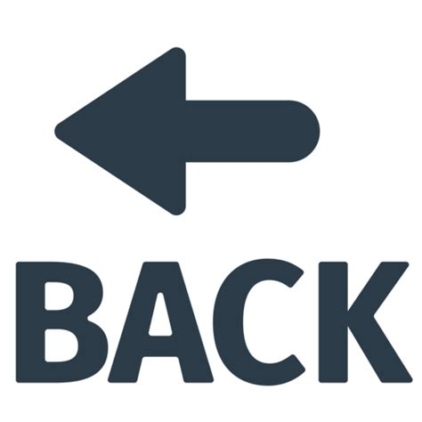 imagenes back up flecha back emoji
