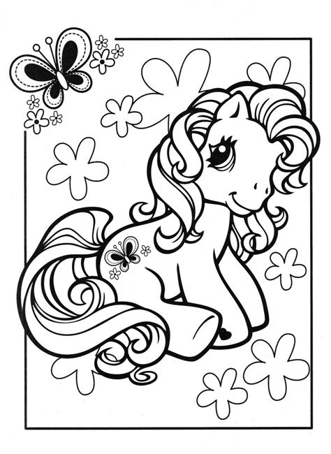vintage my little pony coloring pages my little pony coloring page mlp scootaloo coloring