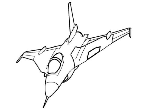 jet fighter plane coloring pages