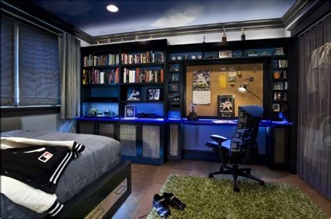Cool Guys Rooms | cool dorm rooms ideas for boys room design ideas