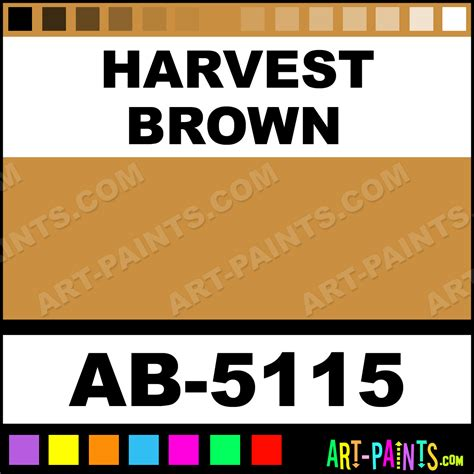 harvest brown bakers preferred airbrush spray paints ab 5115 harvest brown paint harvest