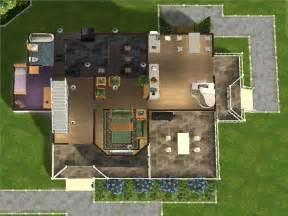 Floor Plans For Sims 3 by Sims 3 House Floor Plans Car Tuning