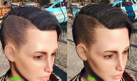 fallout 4 hair color wx hair colors fallout 4 mod cheat fo4
