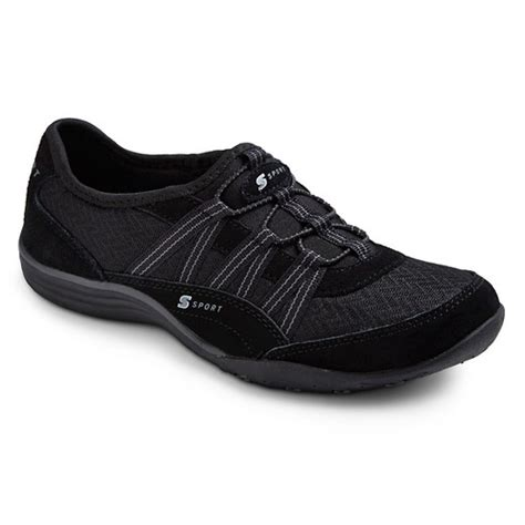 black womens athletic shoes s s sport designed by skechers relax d performance