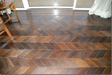 Chevron Wood Floor by Interior Design Trend Spotting Chevron Prints Everywhere