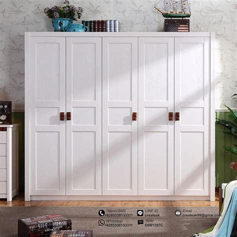 Ikea Hanga Gantungan Baju Kayu Anak 1 Set Isi 5 Wooden Hanger lemari pakaian minimalis 5 pintu createak furniture createak furniture