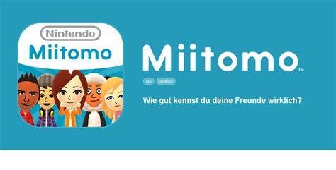 club nintendo mobile miitomo die neue app nintendo das spielemagazin