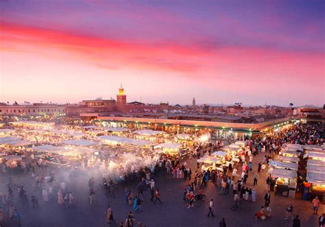 The Blue City Morocco by Djemaa El Fna Square The Heart Of Marrakech