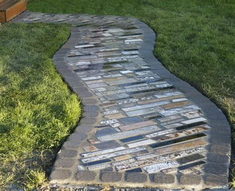 recycled marble countertops how to make a walkway using recycled counter top granite