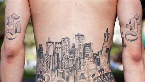 san francisco tattoos 8 amazing embarrassing sf inspired tattoos the bold
