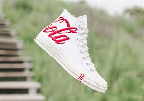 Converse 70s High X Kith X Cocacola White kith coca cola converse chuck 1970s release date sneakernews