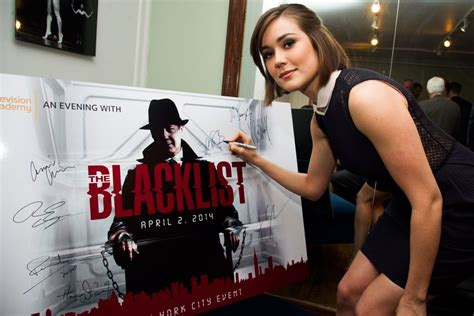 17 best images about megan boone the blacklist on megan boone at an evening with the blacklist hawtcelebs