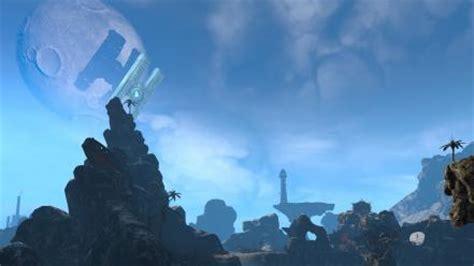 video games landscapes satellite hyperion oasis borderlands  wallpaper