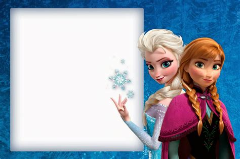 frozen cute free printable invitations a few nice ones