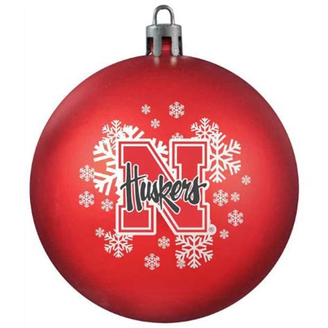 nebraska tree ornament nebraska cornhuskers tree ornament