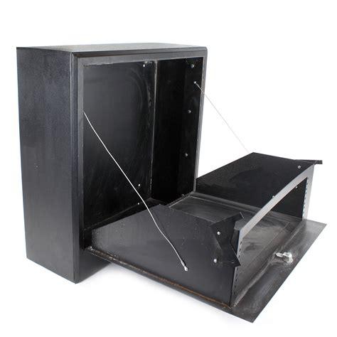 wall mounted av cabinet 24 quot x 24 quot wall mount cabinet 4 space black av