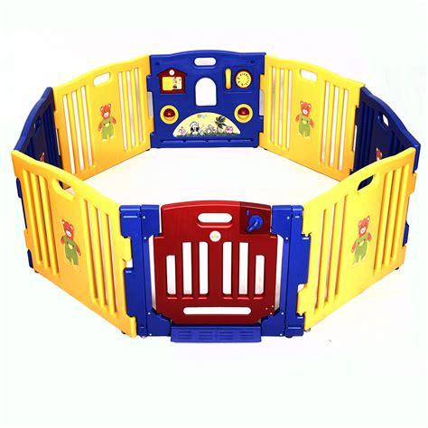 outdoor playpen baby playpen 8 panel safety play center yard home indoor outdoor new pen ebay