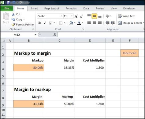 margin calculator excel template margin calculator priorityface