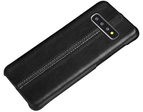 samsung galaxy  stitched genuine leather  cover case