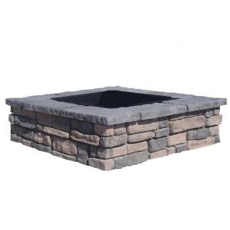 fossill random limestone square pit kit