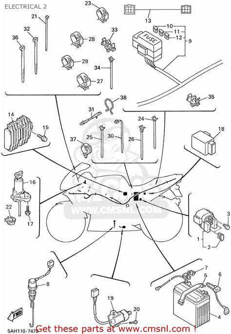 yamaha yzf600r wiring diagram wiring diagram and fuse box