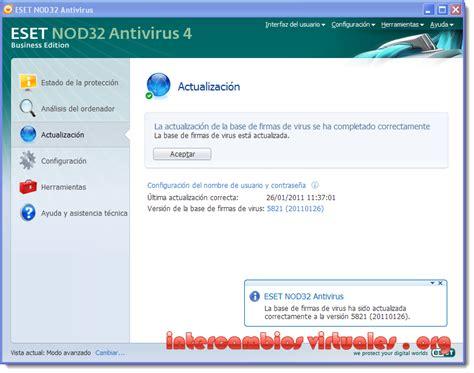 Eset Nod32 Antivirus Business Edition eset nod32 antivirus v4 2 71 2 standard business edition espa 241 ol intercambiosvirtuales