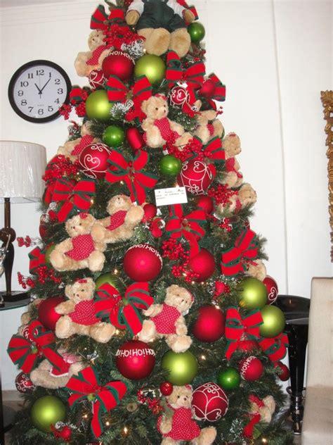decoração arvore de natal vermelho e branco 193 rvore de natal decorada veja mais de 80 modelos lindos