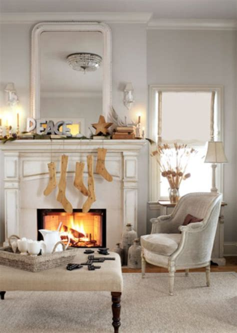 Fireplace Decorations | 27 inspiring christmas fireplace mantel decoration ideas