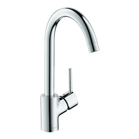 kitchen faucet chrome hansgrohe 04870000 talis s single lever kitchen faucet in chrome