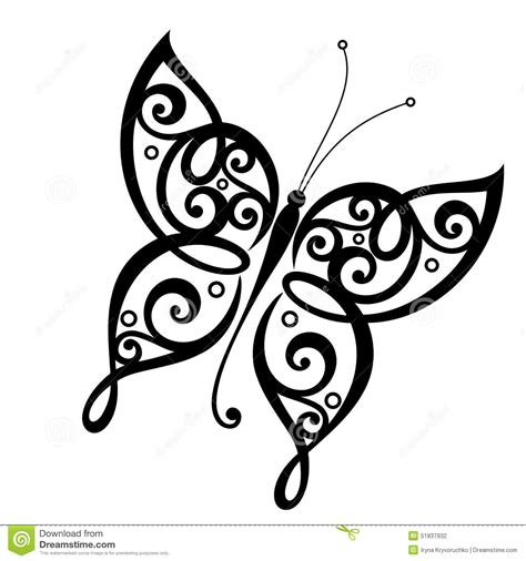 vector beautiful butterfly stock vector image 51837932