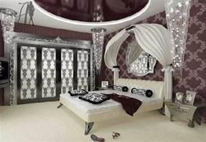 black white girl bedroom