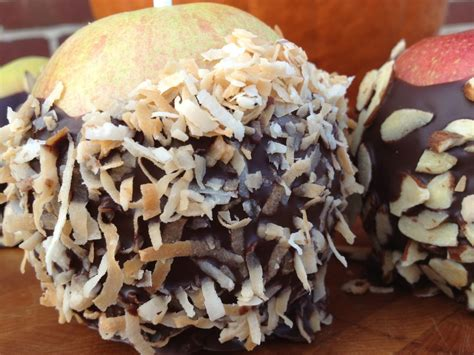 Reader Recipe Chocolate Covered Apples by Chocolate Dipped Apples My Clean Kitchen