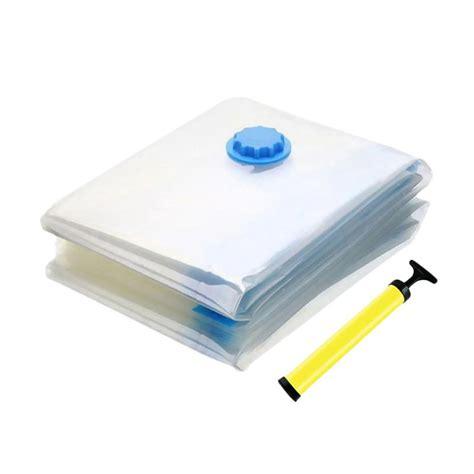 Manual Pompa Untuk Vacuum Bag Air Household Travel Berkualitas jual best seller plastik set vacuum bag with pompa manual isi 6 harga kualitas