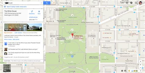 directions to the white house google maps in trouble over racist search that points to the white house
