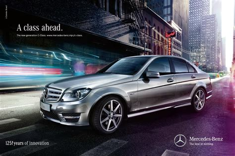 Mercedes Benz Launches New Ad Caign For 2012 C Class