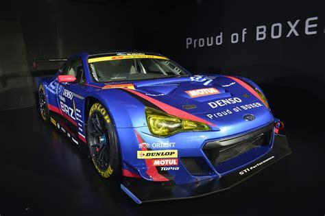 subaru brz racing 2015 subaru brz gt300 race car revealed at tokyo auto