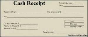 Simple Cash Receipt Template Cash Receipt Template Word Excel Templates