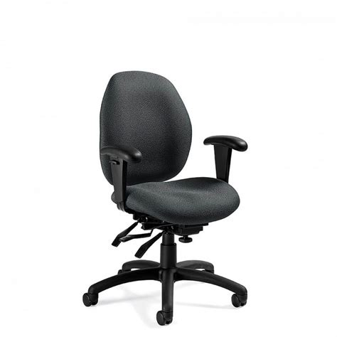 Office Desk And Chair Set Malaga Low Back Ergonomics Chair
