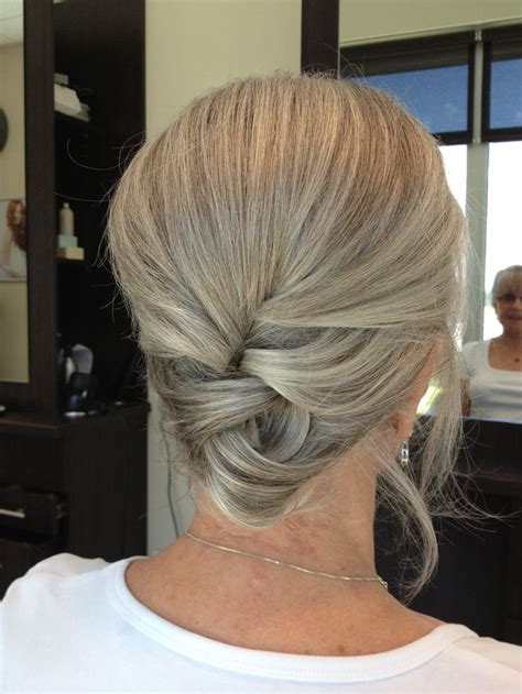 no fuss hairstyles for women over 50 updo hairstyles for women over 50 elle hairstyles