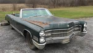 1966 Cadillac Eldorado Needs A Top 1966 Cadillac Eldorado