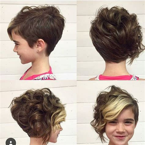 curly layered ear length hair styles 21 gorgeous long pixie haircuts curly pixie cuts curly