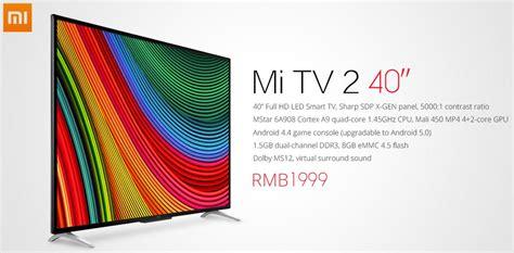 Xiaomi Tv 2 xiaomi mi tv 2 el nuevo televisor de xiaomi que llega por